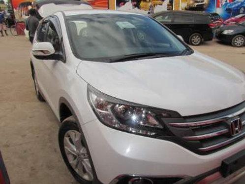 Honda CRV White 2012