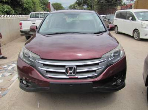 Honda CRV Red