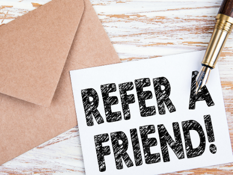 Refer a friend this fall