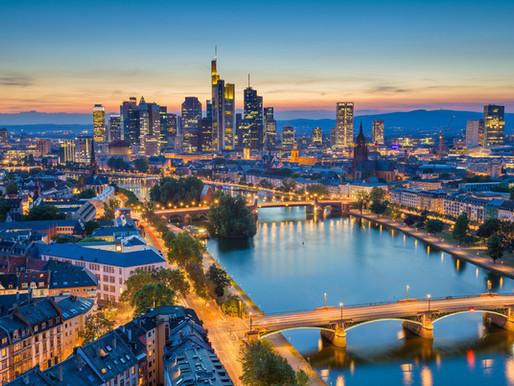Running in Frankfurt: the European Manhattan