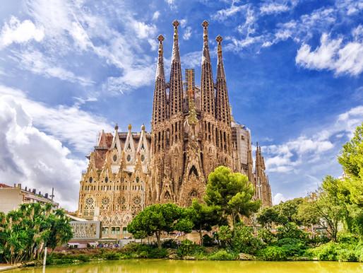 Running in Barcelona: Gaudí's city