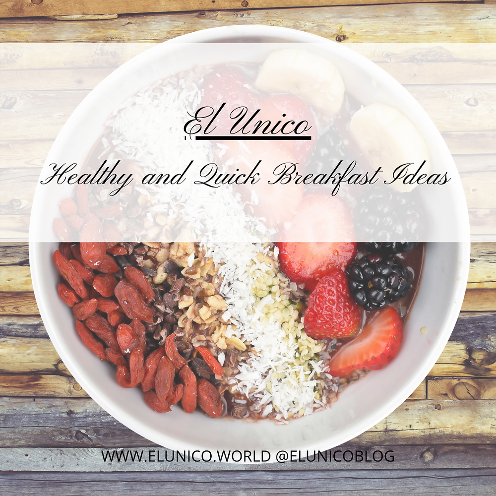 oats, brerakfast ideas, before work breakfast, ideas, healthy, quick and easy breakfast, on the move food, UK, South Wales, el unico blog, el unico