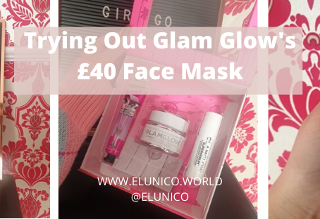 Trying out A £4o Face MASK