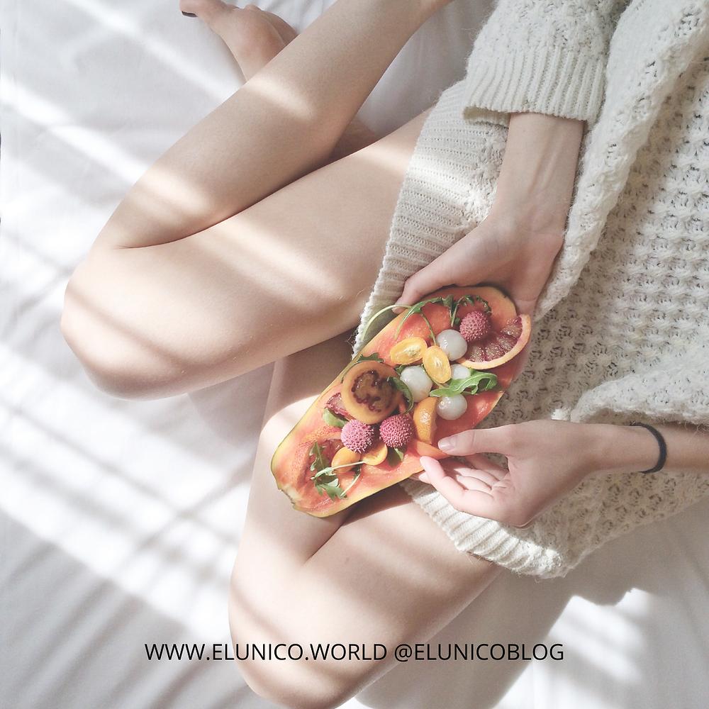 el unico, elunico, el unico blog, blogmas, fruit, how to, breakfast, morning routine, routine, tiktok routine, aesthics