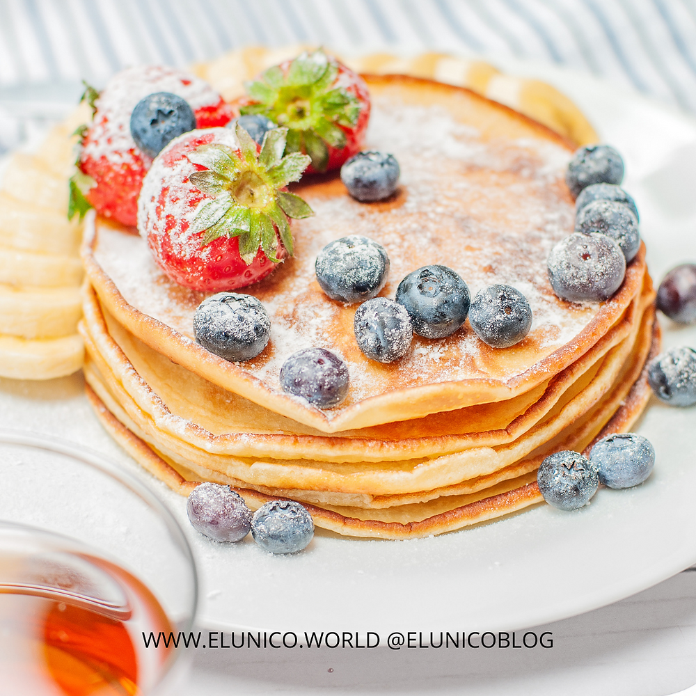 pancakes, banana, fruit, healthy, health, fitness, breakfast, healthy breakfast, el unico blog, el unico