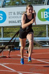 Läuferin Leichtathletik