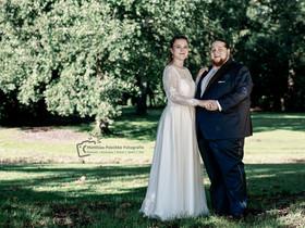 Hochzeitshooting vor der Trauung