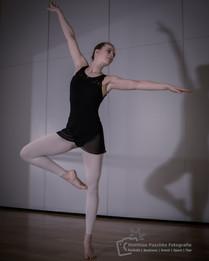 Sportshooting mit Tänzerin