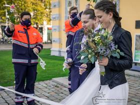 Hochzeitshooting nach der Trauung