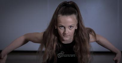 Einzelportrait mit Tänzerin