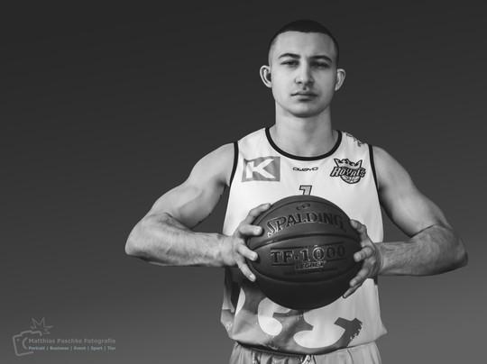 Sportler Portrait Mihail