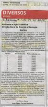 """Reabertura da Petição """"PELA PRESERVAÇÃO DA SERRA DA ARGEMELA/CONTRA A EXTRACÇÃO MINEIRA"""""""