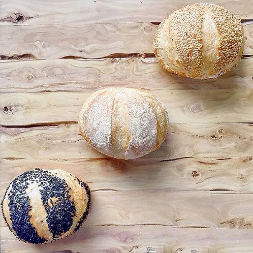Pão de Hambúrguer Gourmet