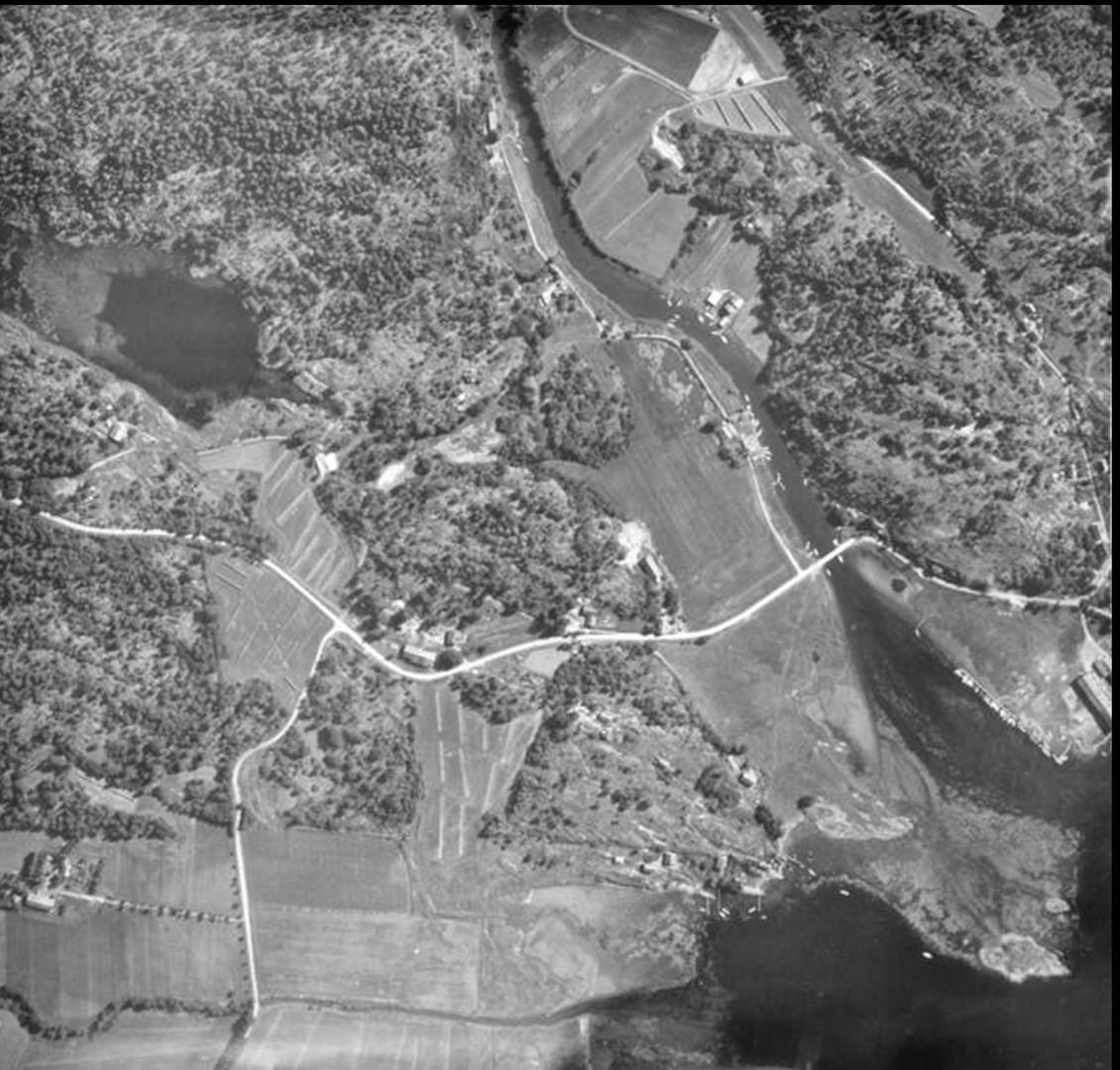 Flyfoto over Kolås og Sonskilen