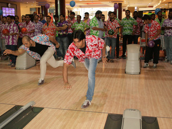 Bowling Event Enjoyed By One And All