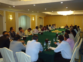 DCG members meet for the Credit Defaulters Discussion