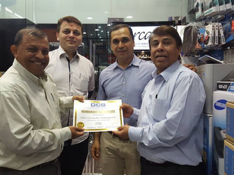 DCG Certificates for 2016 distributed