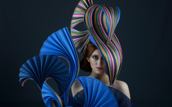 Caithriona King Millinerry hat