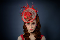 Caithriona King Millinery hat