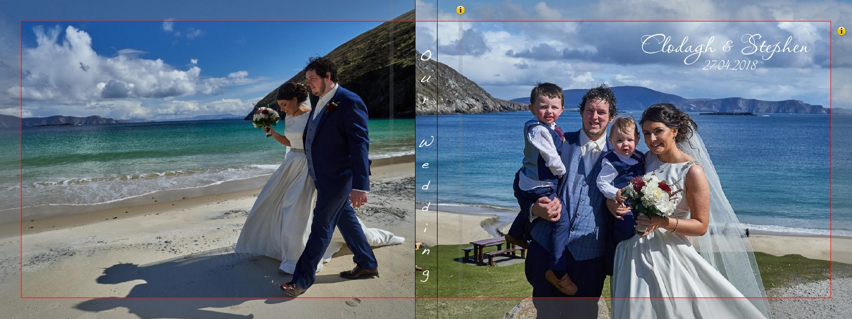 achill island wedding mayo