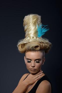 Woman headshot hair style
