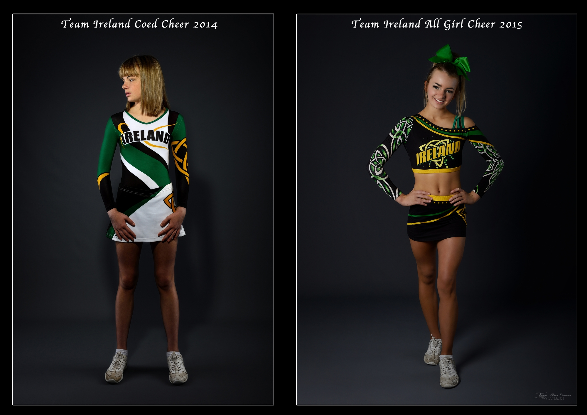 Team Ireland All Girl Cheer 2015