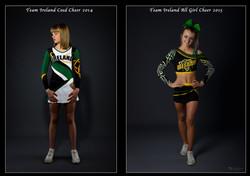 Team Ireland All Girl Cheer 2015