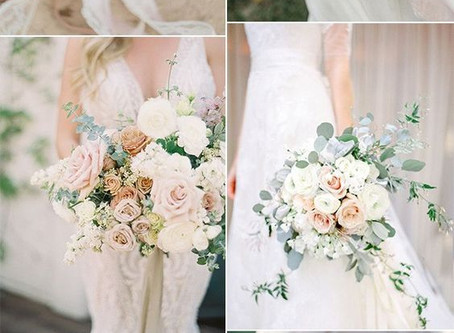 20 ELEGANT NEUTRAL WEDDING BOUQUETS IDEAS FOR 2019