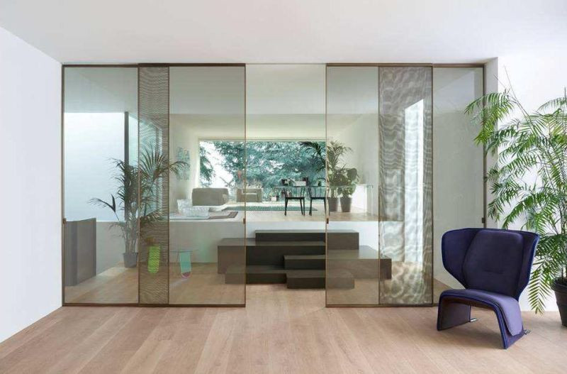 GLASS WALLS AND DOORS