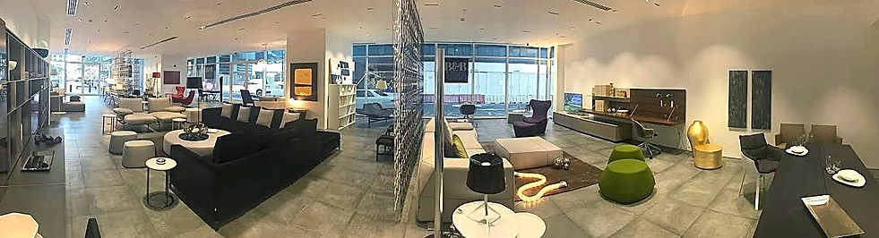 B&B Italia showroom Abu Dhabi