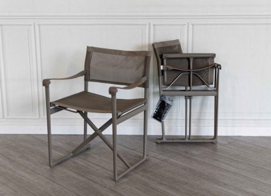 Mirto small folding chair - Tortora