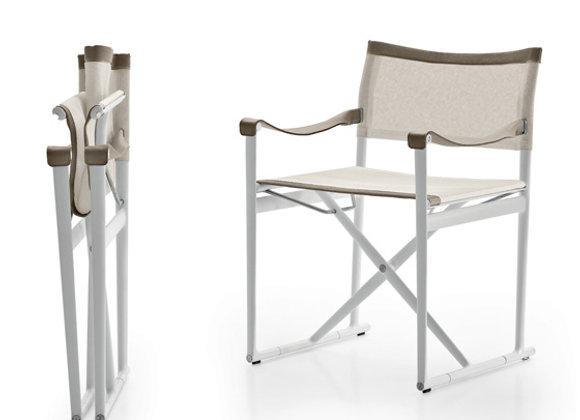 Mirto small folding chair - White