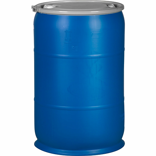 55 Gallon Reconditioned Open Top Poly Drum
