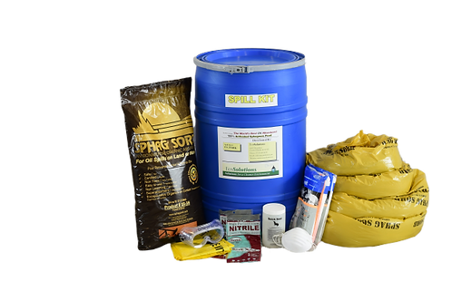 25 Gallon Activated Peat Spill Kit