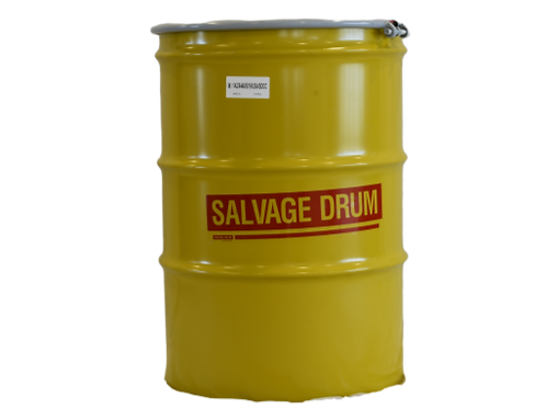 85 Gallon Steel Overpack Salvage Drum
