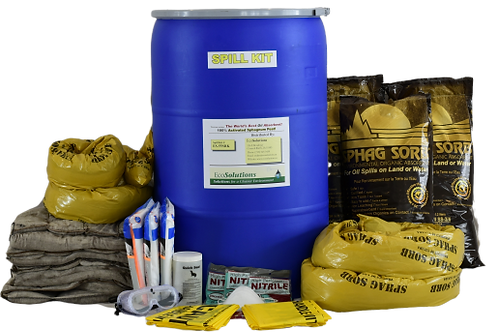 55 Gallon Activated Peat Spill Kit