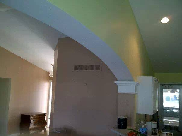 Two-Tone inside arch