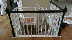 Stair railing After