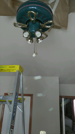 Fan Painting before