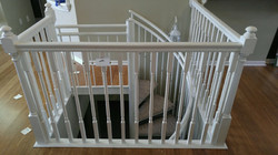 Stair railing Before