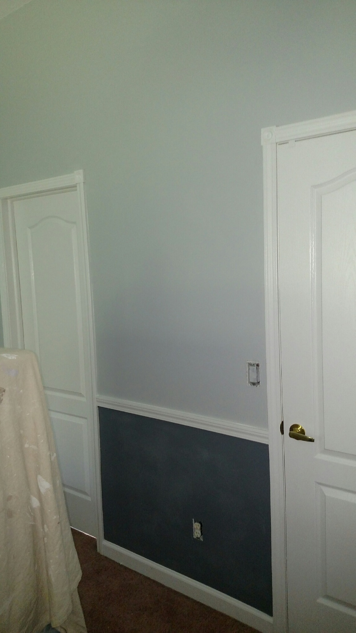 After - closet doors