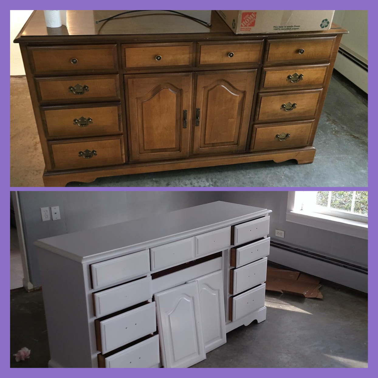 before _ after Dresser