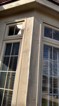 Exterior wood repair