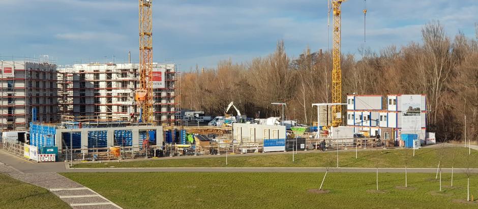 Baufortschritt 20. Januar 2020