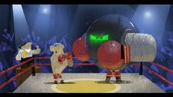 045robot boxe