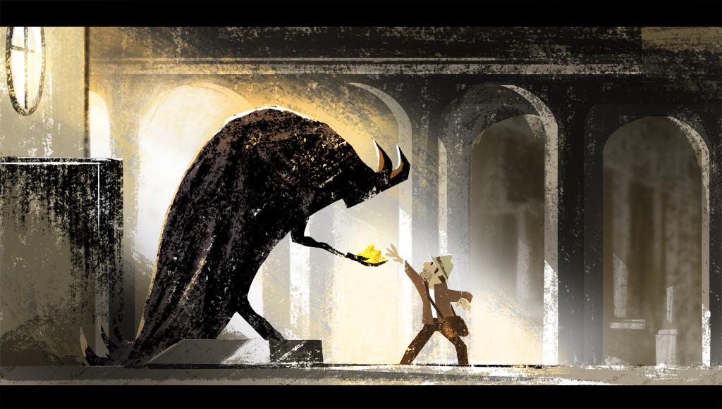 018_horned statue_2