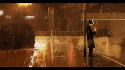109_rainy night