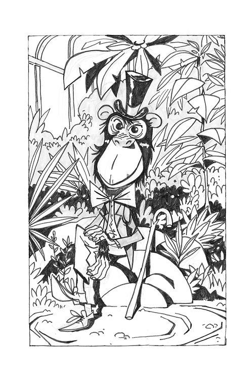Print_The wise monkey
