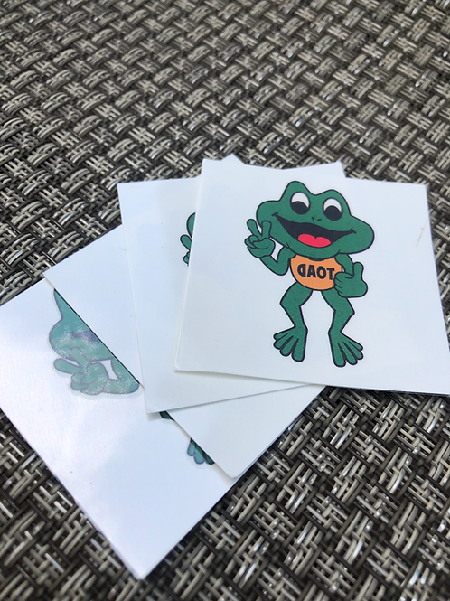 Toad Tats (7-Pack)