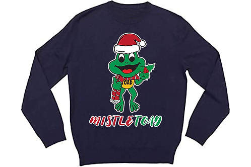 MISTLE TOAD - DARK BLUE CREWNECK
